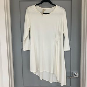 Comfy white tunic